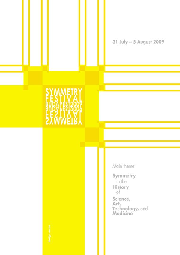 Symmetry Festvial 2009 - Poster